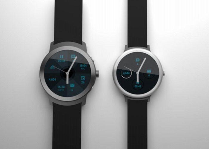diseños de los nuevos Nexus smartwatch de Google