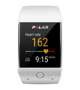 Polar M600 heart rate