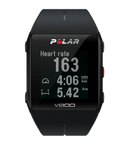 Polar v800 heart rate