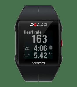 Polar v800 heart rate