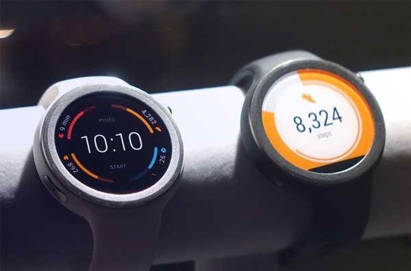 Smartwatch Motorola 360 sport